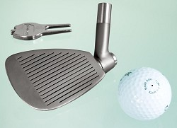 Golf shaft with adjustable head - Investment Casting