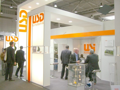 USD: Messestand